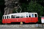 Do któregoś-tam-roku normalnie była tu linia tramwajowa! Później skasowali i jeździły już tylko PKSy.