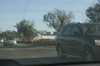 Ten pan miał peszka... rower mu z samochodu sfrunął na trasie