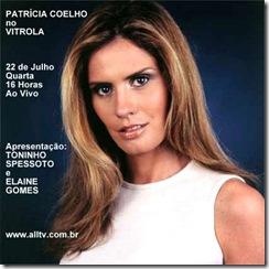 PATRÍCIA COELHO - Vitrola (allTV) - 22-7-2009