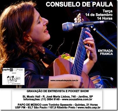 CONSUELO DE PAULA - Papo de Músico - 14-9-2010