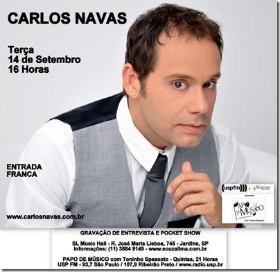 CARLOS NAVAS - Papo de Músico - 14-9-2010