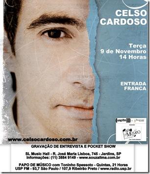 CELSO CARDOSO - Papo de Músico - 9-11-2010