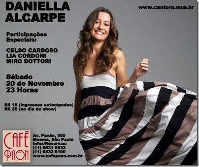 DANIELLA ALCARPE - Café Paon - 20-11-2010