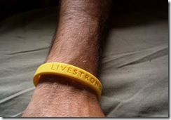 LIVESTRONG bracelet