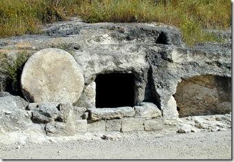 Rolling stone tomb near Megiddo, tb n032901