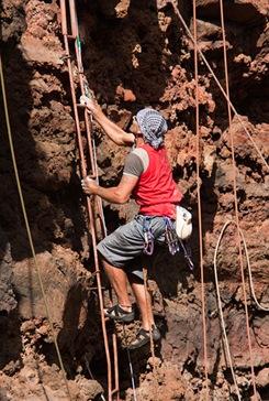 Escalada en isla de La Palma 31