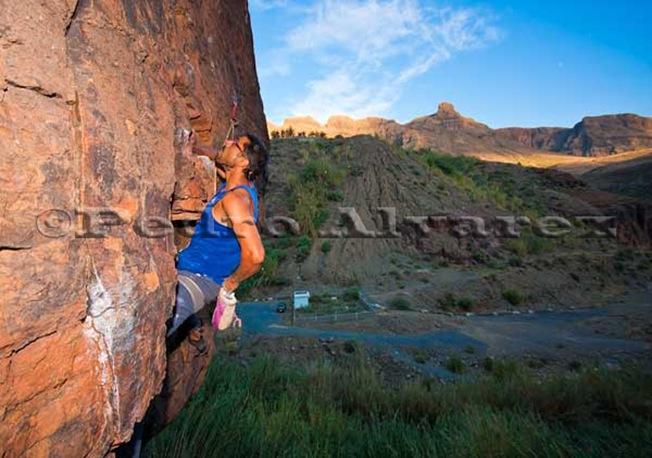 Escalar en Fataga, Escalada en Gran Canaria, Canarias32