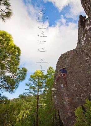 Escalar en tamadaba, rock climb, canarias12