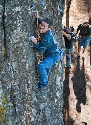 Escalar en tamadaba, rock climb, canarias09