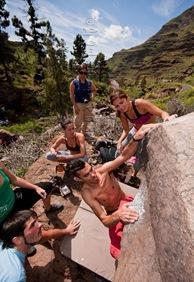 Encuentro de bloque de Mogan, boulder Mogan, Gran Canaria Boulder 008