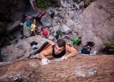 Encuentro de bloque de Mogan, boulder Mogan, Gran Canaria Boulder 024
