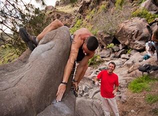 Encuentro de bloque de Mogan, boulder Mogan, Gran Canaria Boulder 025