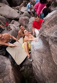Encuentro de bloque de Mogan, boulder Mogan, Gran Canaria Boulder 037