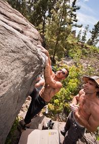 Encuentro de bloque de Mogan, boulder Mogan, Gran Canaria Boulder 030