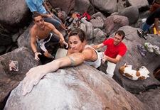 Encuentro de bloque de Mogan, boulder Mogan, Gran Canaria Boulder 069