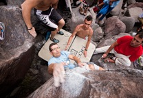 Encuentro de bloque de Mogan, boulder Mogan, Gran Canaria Boulder 070