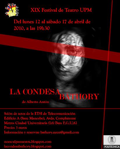 Cartel de 'La Condesa Báthory'