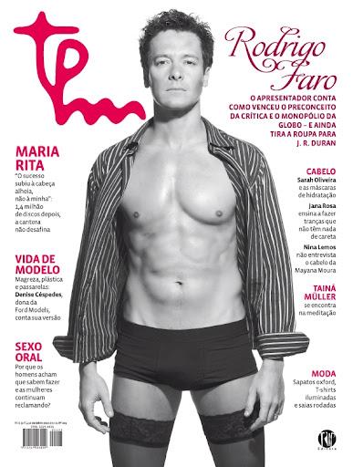 Rodrigo Faro em ensaio para a TPM- Hot or not?