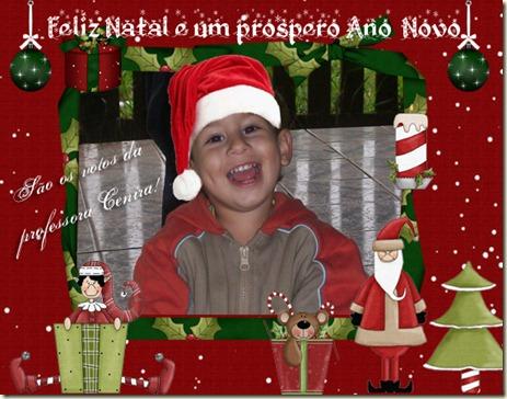 Cartão natal para foto Arthur copy