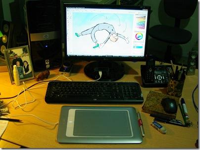 New Wacom Bamboo Fun tablet & Corel Painter essentials