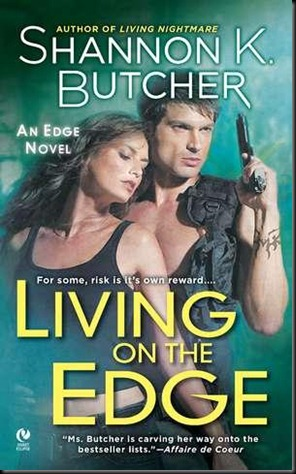 Living on the Edge - Shannon K. Butcher - OCTOBER 2010 REVEAL