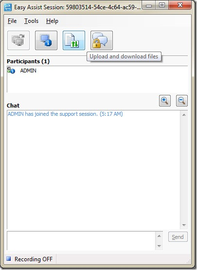 intune -Administrators_Remote_Assistance_dialog