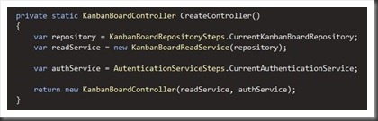 CreateController with lazy loaded services
