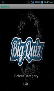 BigQuiz - screenshot