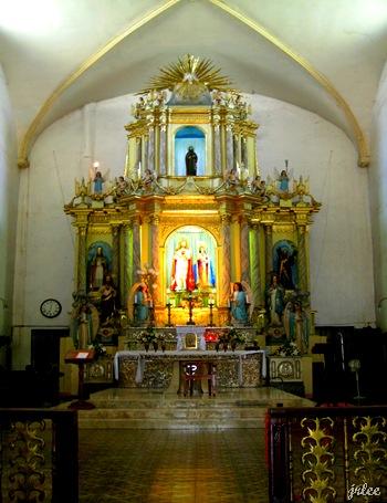 altar, Vigan Cathedral