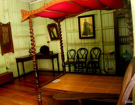 the room of Father Burgos