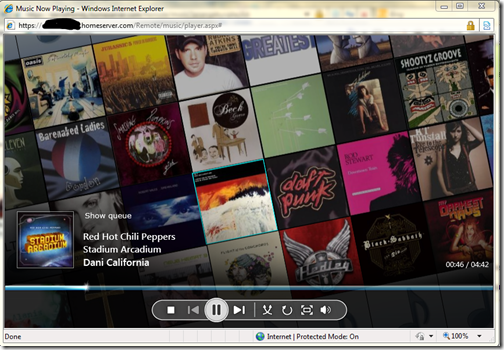 Silverlight Music Player