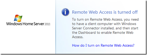 Remote Access Disabled