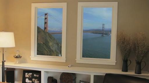Виртуальный пейзаж за окном