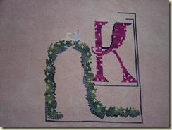 Nora's Letter K 11-22-09