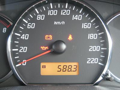 588km