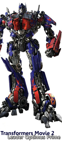 Transformers Movie 2 - Leader Optimus Prime Action Figure