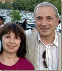 Родители Сергея Брина. Фото.