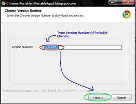 Google Chrome Portable Installer-Main