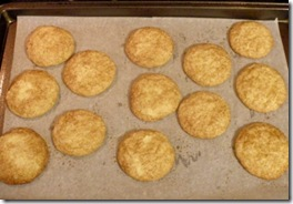 snickerdoodles baked