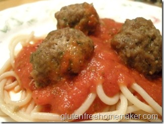 meatballs & spaghetti
