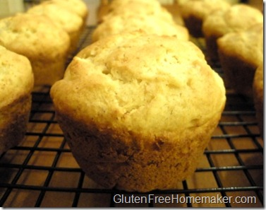 pineapple coconut muffins on rack