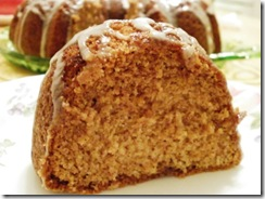 cinnamon bundt cake-slice