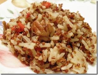 rice & quinoa pilaf