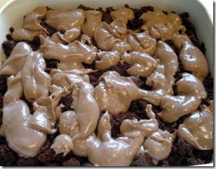 Chocolate cake dessert 1