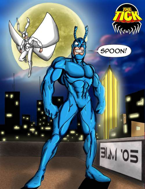 The Tick Fictional Cartoon