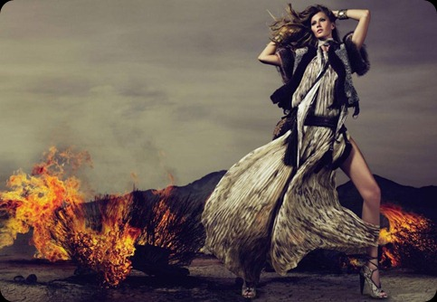 GiselleCavalliFall2010Campaign4