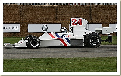 1975 Hesketh 308B Ford Cosworth F1