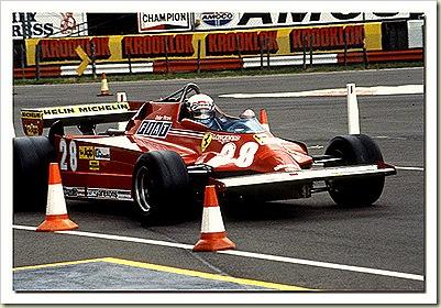 Ferrari 126 F1 1981