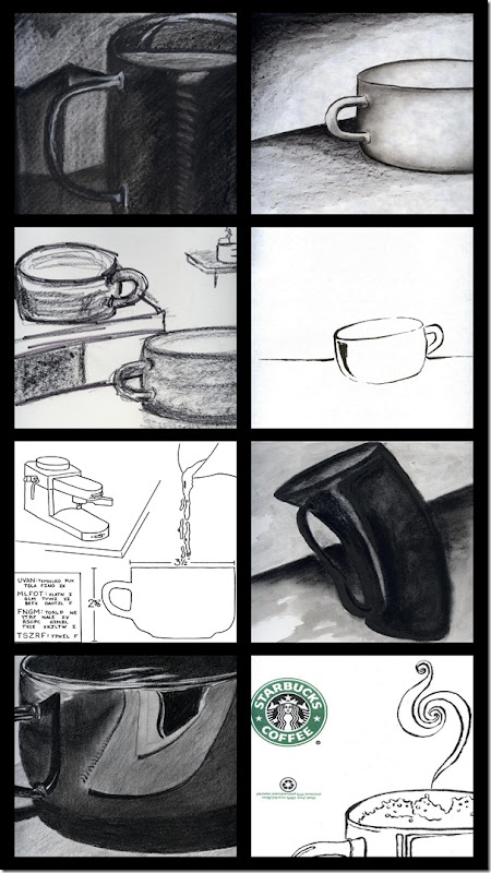 Coffee Cup Collage