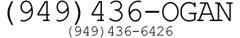 (949) 436-OGAN